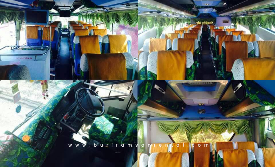 Buriram Bus for Rent