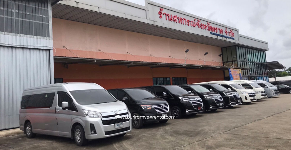 Buriram Van for Rent - Buriram Car for rent